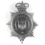 City Of Sheffield Police Chrome Helmet Badge