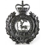 Berkshire Constabulary Chrome Helmet Badge
