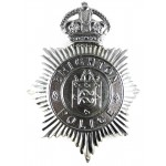 Brighton Police Pre 1953 Chrome Helmet Badge