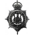 Bradford City Police Blackened Helmet Badge
