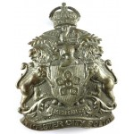 Leicester City Police White Metal Helmet Badge 1919-1927