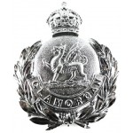 Glamorgan Police Pre 1953 Chrome Helmet Badge