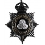 Lincolnshire Constabulary Blackened Helmet Badge Pre 1953 LKH Centre
