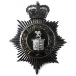 Ipswich Borough Police Blackened Helmet Badge