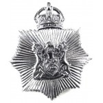 Derbyshire Constabulary Small Star Helmet Badge