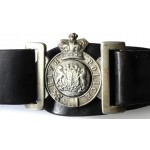 Bath Police Complete Victorian Belt And Buckle