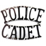 Police Cadet Chrome Shoulder Title
