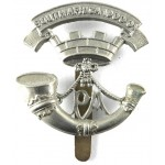 4/5th Battalions Somerset Light Infantry White Metal Cap Badge