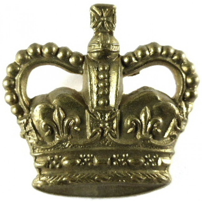 Warrant Officer Class 3 Post 1953 Brass Trade Badge 31mm