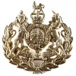 Royal Army Ordnance Corps Conductors Brass Rank Badge Post 1953