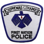 Chippewas Of The Thames First Nation Police Cloth Patch