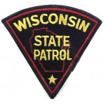 Wisconsin State Patrol Cloth Patch