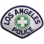 Los Angeles Police Medical Cloth Patch