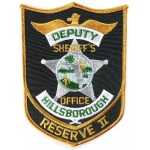 Hillsborough Deputy Reserve 2 Cloth Patch