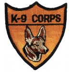 K9 Corps US Police Cloth Patch