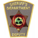 Henry County Deputy Sheriff`s Department Cloth Patch