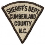 Cumberland County Sheriff`s Dept. NC Cloth Patch