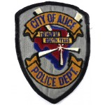City Of Alice Police Dept Cloth Patch