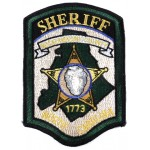 Mecklenburg County North Carolina Sheriff Cloth Patch