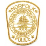 City Of Norfolk Virginia Police Cloth Patch