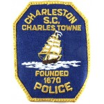 Charleston Police Cloth Patch