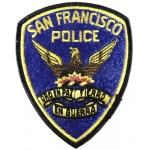 San Fransisco Police Cloth Patch
