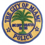 City Of Miami Police Cloth Patch