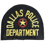 Dallas Police Department Cloth Patch