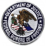Department Of Justice Federal Bureau Of Prisons Cloth Patch