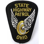 US Ohio State Highway Patrol Police Cloth Patch