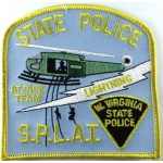US West Virginia State Police Attack Team Cloth Patch