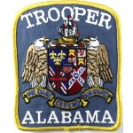 US Alabama Trooper Cloth Patch