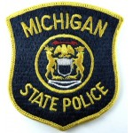 US Michigan State Police Cloth Patch