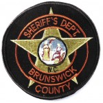 US Brunswick County Sheriff`s Dept Cloth Patch