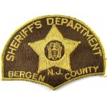 US Bergen County N.J. Sheriff`s Dept Cloth Patch