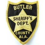 US Butler County Ala. Sheriff`s Dept Cloth Patch