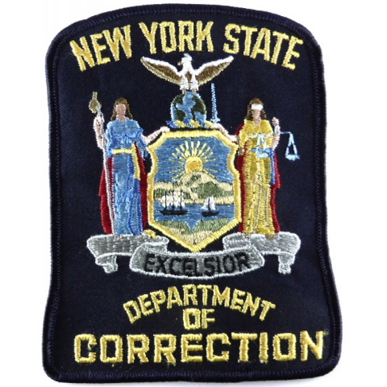 US New York State Department Of Correction Cloth Patch