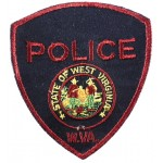 State Of West Virginia Police Cloth Patch