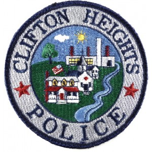 Clifton Heights Police Cloth Patch