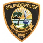 US Orlando Police Cloth Patch