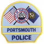US City Of Portsmouth Police Cloth Patch