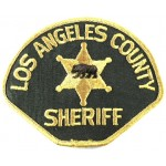 US Los Angeles County Sheriff Cloth Patch