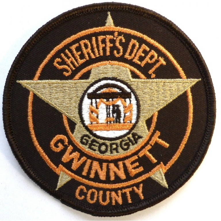 US Gwinnett County Georgia Sheriff`s Dept. Cloth Patch