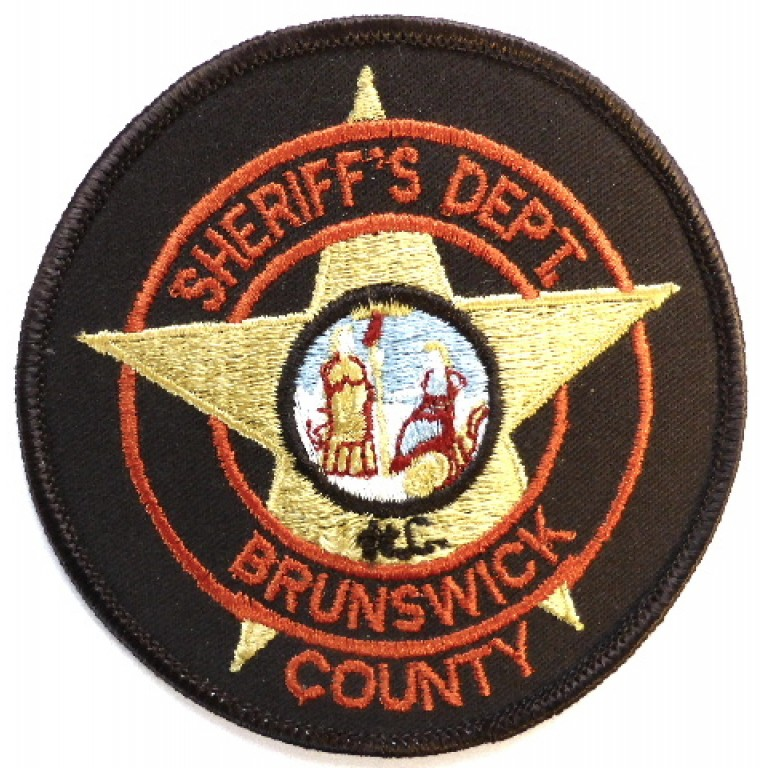 US Brunswick County Sheriff`s Dept. Cloth Patch