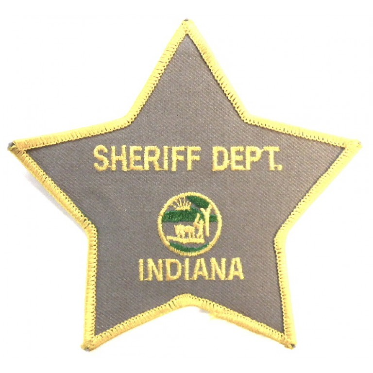US Indiana Sheriff Dept.Cloth Patch
