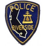 US Riverside Police Cloth Patch