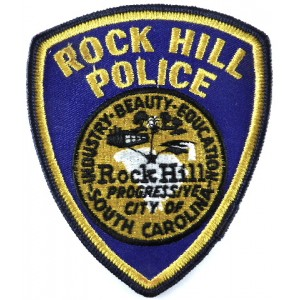 US Rock Hill Police Cloth Patch