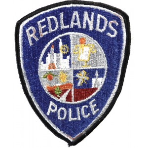 US Redlands Police Cloth Patch