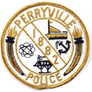 US Perryville Police Cloth Patch