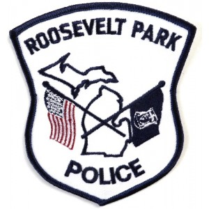US Roosevelt Park Police Cloth Patch